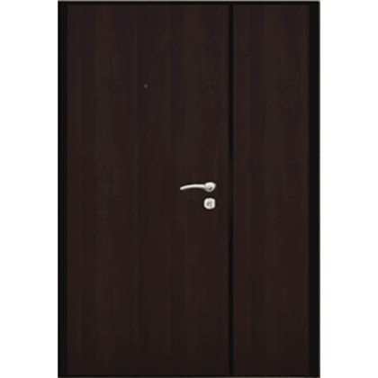 Входная дверь Двухстворчатая