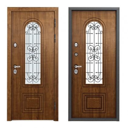 Входная металлическая дверь для дома или дачи «Афина»