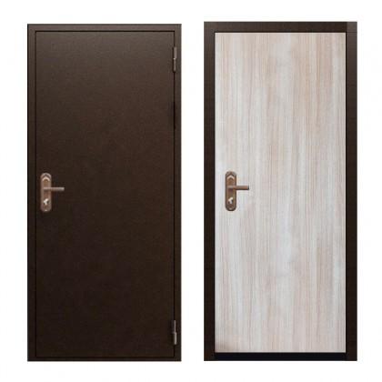 Входная дверь Эконом Беленый дуб