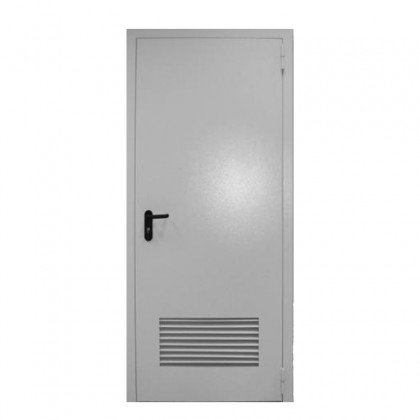 Входная дверь С вентиляционной решеткой