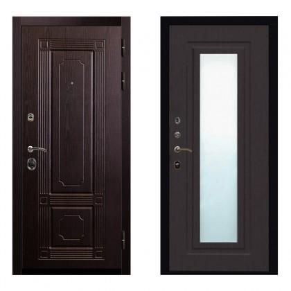 Входная дверь Рим Зеркало (Венге / Венге)