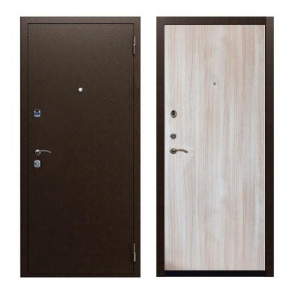 Входная дверь Стандарт Беленый дуб